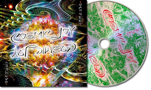 DJ Sangeet - Cosmic Joy CD