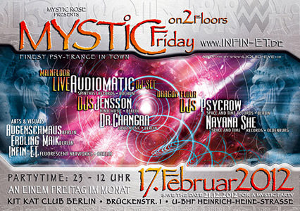 Mystic Friday Flyer