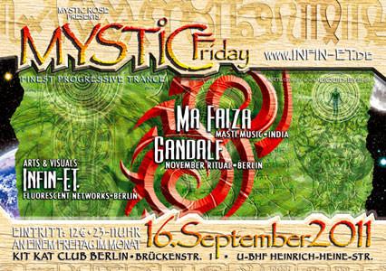 Mystic Friday Flyer