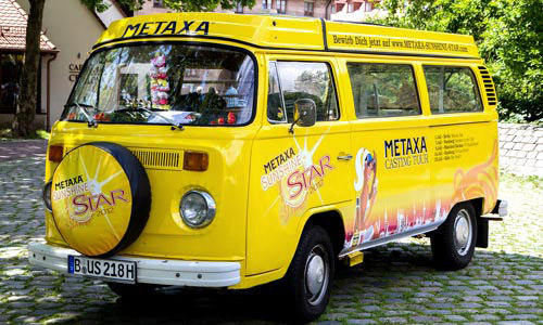Metaxa - Promotion car branding