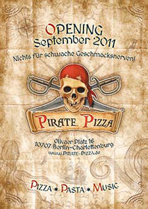 Pirate Pizza Anzeige