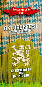 Spreewiesn Flyer