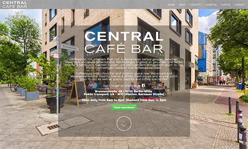 Café Bar Central - Gastronomie