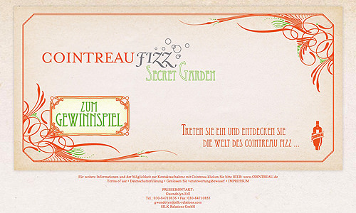 Cointreau Secret Garden - Event