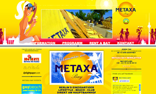 Metaxa Bay - Gastronomie