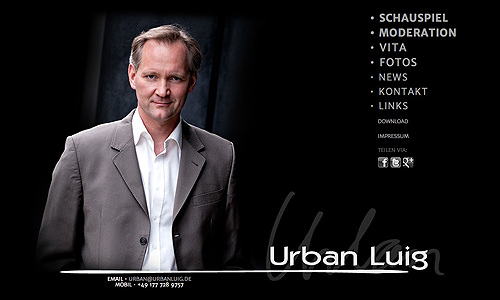 Urban Luig - Schauspieler