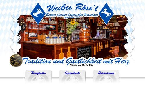 Weisses Roessl Berlin - Gastronomie